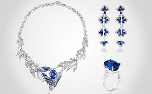 مجوهرات الياقوت الأزرق لإطلالة مفعمة بالأناقة و الفخامة