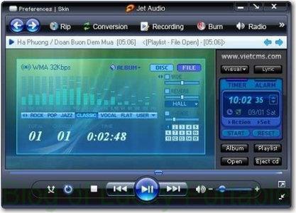 تحميل برنامج jetAudio 8.1.1 Basic برابط مباشر