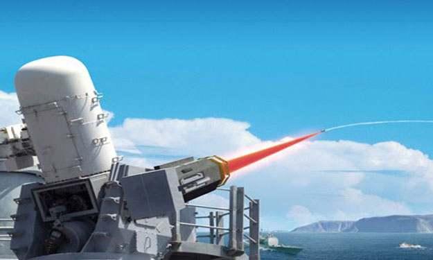 بالصور البحرية الأمريكية تتزود بمدفعين ليزري ومغناطيسي