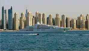 يخت حاكم دبي