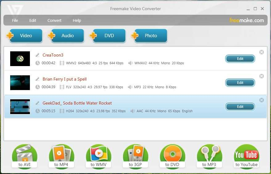 الفيديو Freemake Video Converter 4.1.9.40 Freemake-Video-Conve