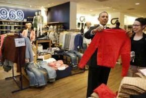 أوباما يشتري ثياب