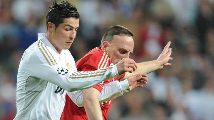 ريال مدريد وبايرن ميونيخ في ذهاب الدور نصف النهائي