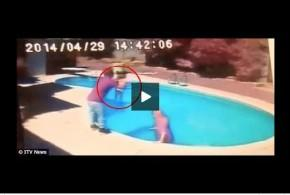 إلقاء القبض على أب أمريكي قام بإلقاء ابنته في المسبح