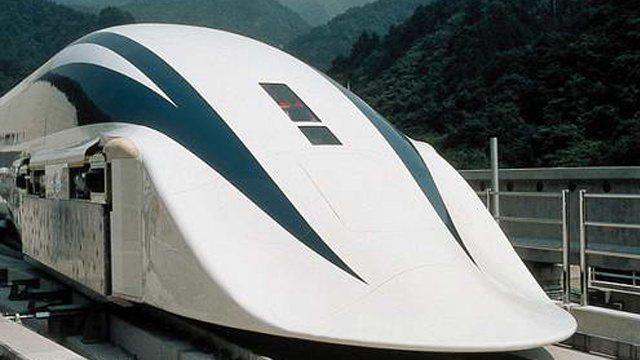 إختراع قطار مغناطيسي سريع جداً بسرعة 2900 كلم