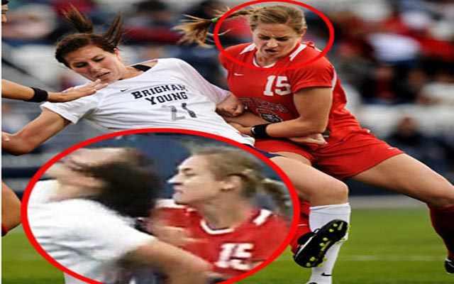 بالفيديو: أعنف لاعبة كرة قدم في العالم