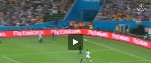 بالفيديو: هدف ألمانيا (بطلة العالم) ضد الأرجنتين في مونديال البرازيل 2014