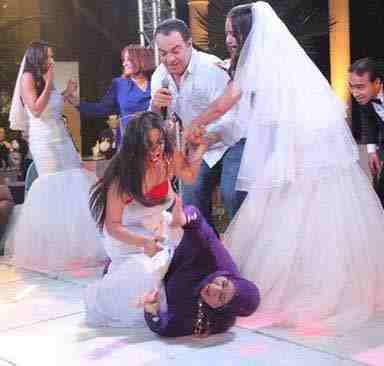 بالفيديو: سما المصري تسب عريساً ووالدته والحضور!!!