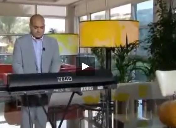 بالفيديو.. شاب لبناني أدهش المسافرين بمطار براغ
