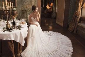 بالصور أجمل فساتين زفاف 2014