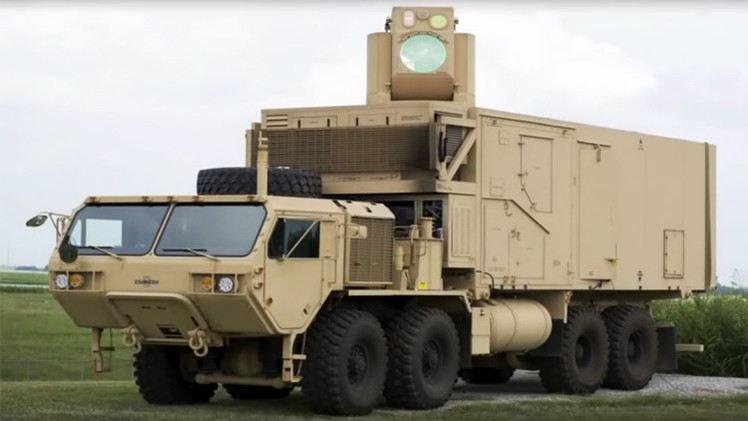 بالفيديو الجيش الأمريكي يختبر سلاح الليزر الحربي HEL MD
