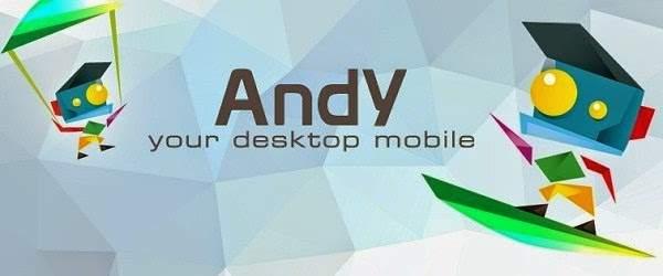 تحميل Andy أفضل مشغل تطبيقات اندرويد على الكمبيوتر
