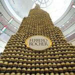 مجسم لبرج خليفة من الشوكولاته يدخل موسوعة غينيس