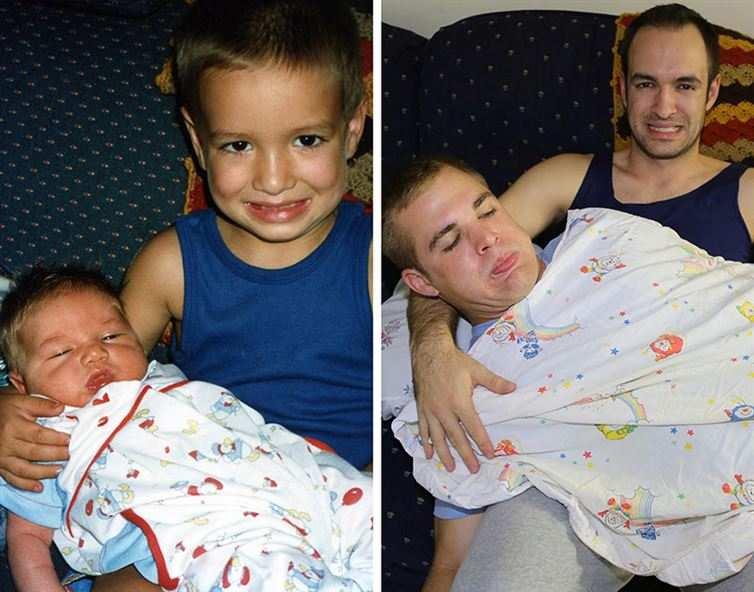 ثلاث أخوة يسترجعون ذكريات الطفولة بكل تفاصيلها