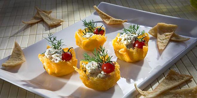 كؤوس الجبن المحشوة وصفة لذيذة و بسيطة