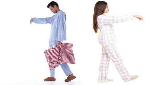 المشي أثناء النوم