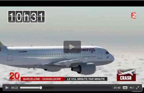 بالفيديو: هكذا سقطت الطائرة الألمانية في جبال الألب - أحلى عالم