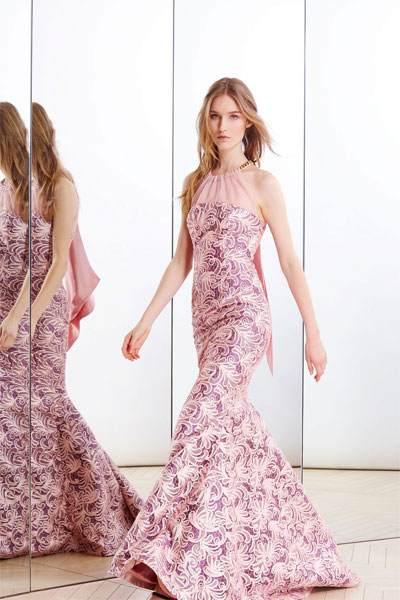 تصميم مميز لفساتين السهرة