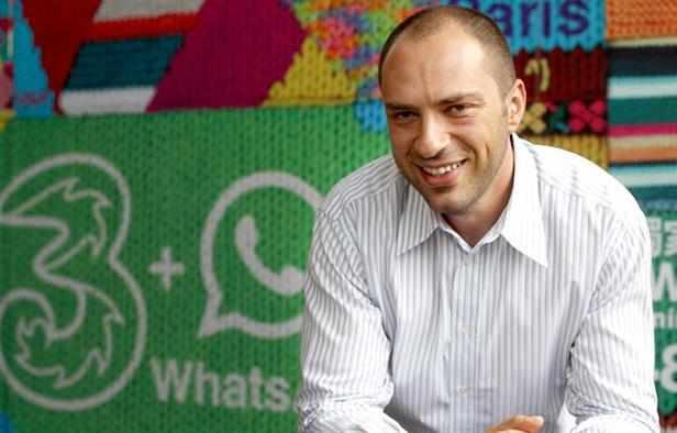 مؤسس تطبيق واتس اب 800 مليون مشترك نشط الآن