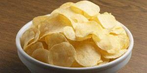 صنع شيبس البطاطا