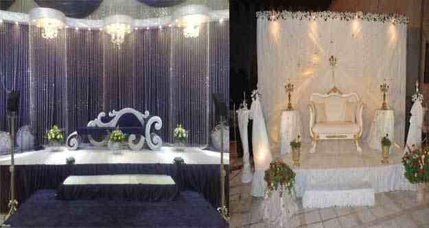 صور كوشات اعراس قمة في الأناقة و الرقي من احلى عالم
