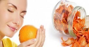قناع قشر البرتقال