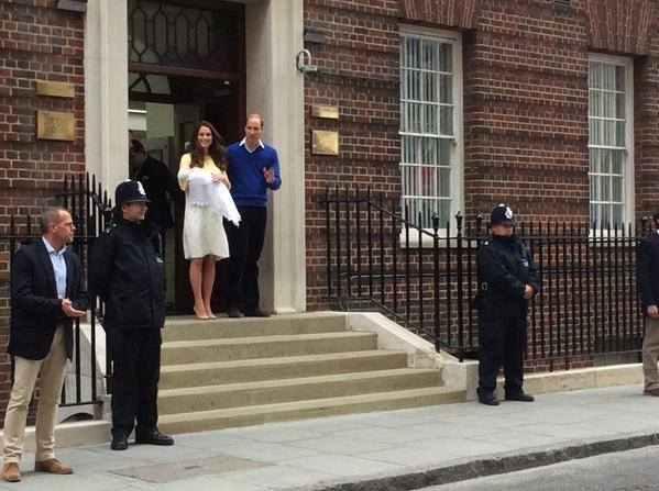 الأميرة كيت و الأمير وليام