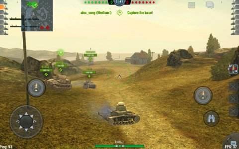 لعبة دبابات اندرويد تطبيق World of Tanks Blitz الشهيرة