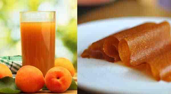 لفائف قمر الدين لشهر رمضان و طريقة تحضيرها في المنزل