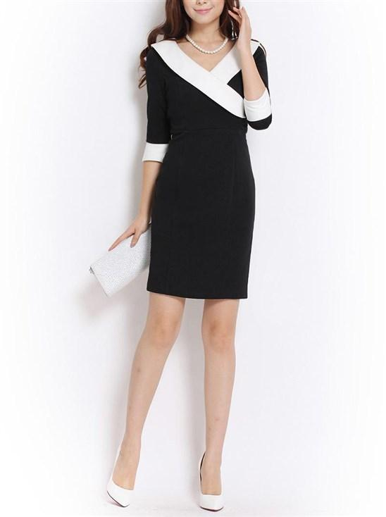 1a80d5a289901 اجمل الفساتين الكلاسيكية لإطلالة ناعمة و جذابة