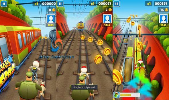 تطبيق Subway Surfers لعبة صبواي محطة القطارات الشهيرة