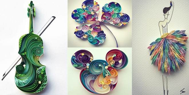 بالصور فن طي الورق بأشكال مدهشة و زخارف أخاذة