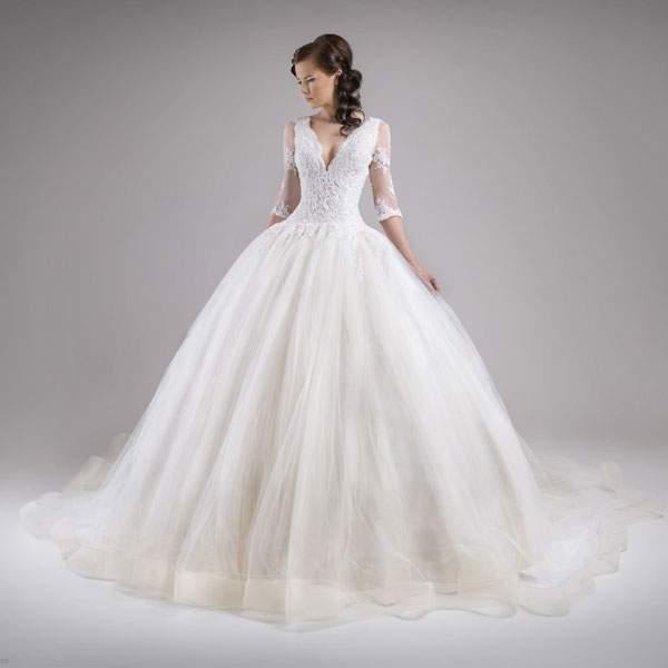 اجمل ثوب زفاف 2016
