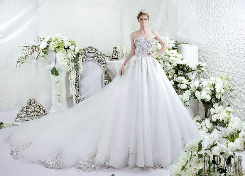 فساتين زفاف 2016 مثيرة من دار سارا