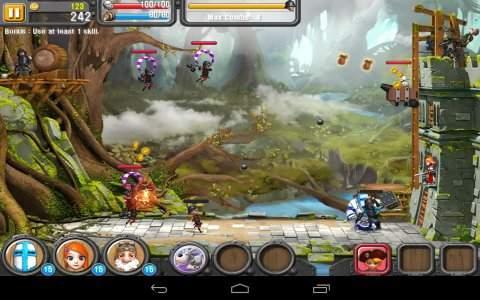لعبة اونيون كنيتس Onion Knights الدفاع عن القلعة والفرسان للاندرويد