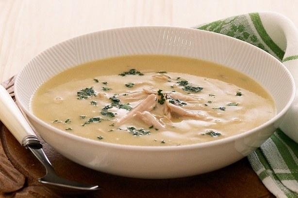 شوربة الدجاج بالكريمة و طريقة تحضيرها من مطبخ احلى عالم