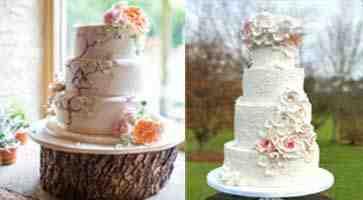 تصاميم فريدة لكعكة العرس فخامة و جمال ليوم لا ينسى