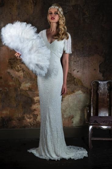 أجمل الفساتين البيضاء