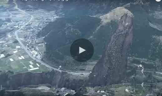 فيديو زلزال اليابان الأخير المدمر لحظة وقوعه
