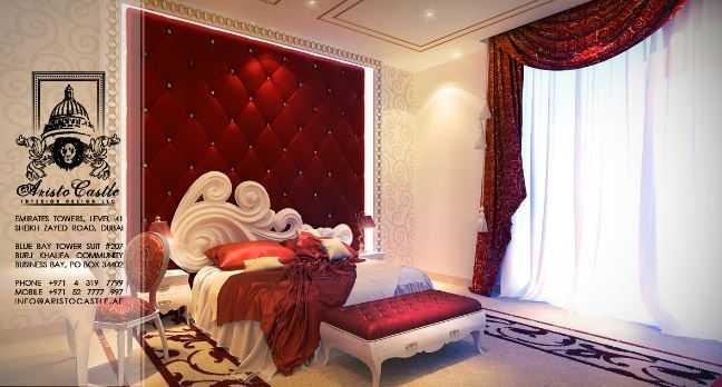بالصور أجمل غرف النوم الملكية