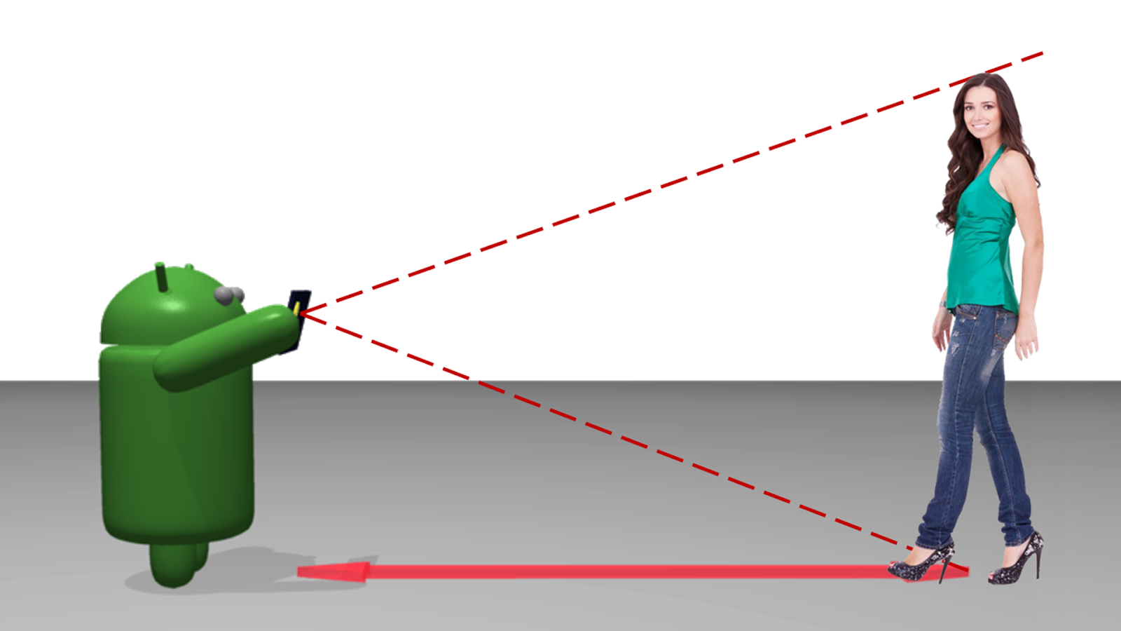 تحميل تطبيق لقياس الطول والمسافة لأجهزة الأندرويد
