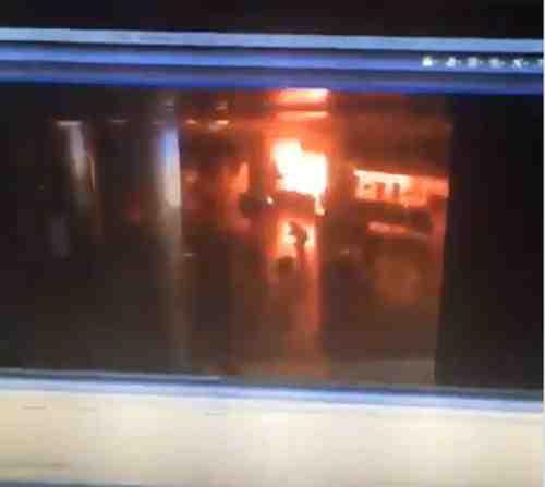 فيديو لحظة انفجار مطار أتاتورك في استنبول