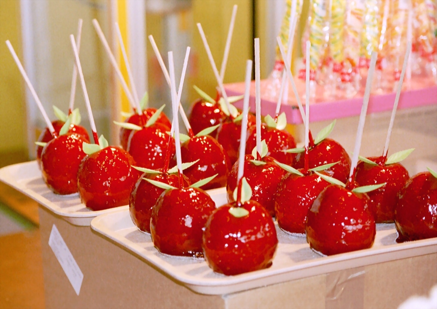 تفاح الحب عنبر التفاح البيروري