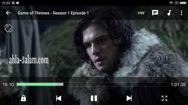 تطبيق مشاهدة المسلسلات على الاندرويد تلفزيون متعدد الخصائص