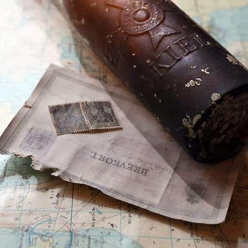 العثور على رسالة في زجاجة بعد 103 سنوات وهذا ما كتب فيها !