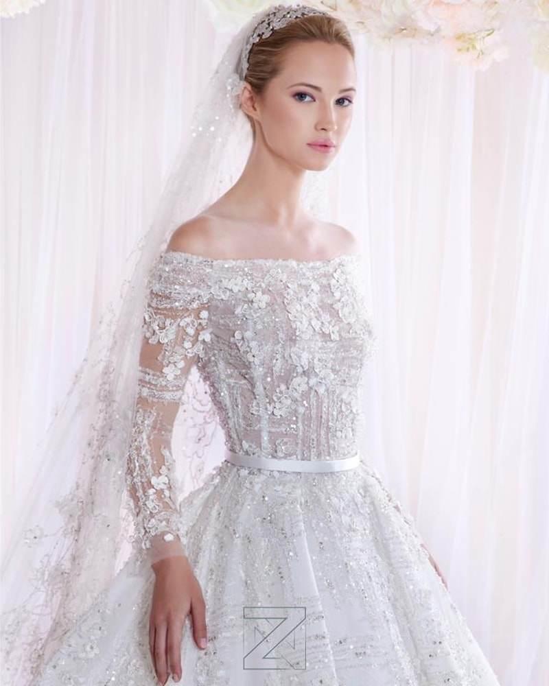 فساتين زفاف زياد نكد 2017