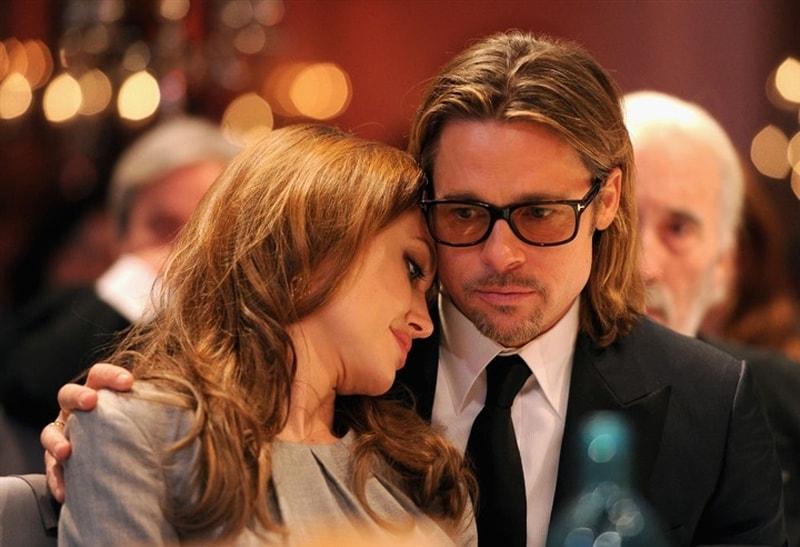 طلاق انجلينا جولي و براد بيت