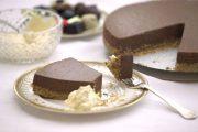 تشيز كيك الشوكولاتة من دون فرن المقادير و طريقة التحضير من مطبخ أحلى عالم