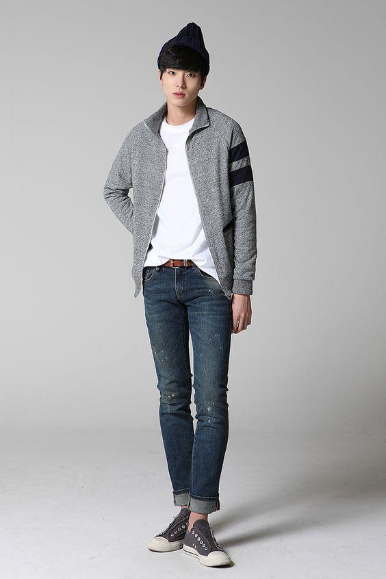 46f53e526 أجمل تنسيق لملابس الشباب الشتوية لأناقة مميزة - احلى عالم