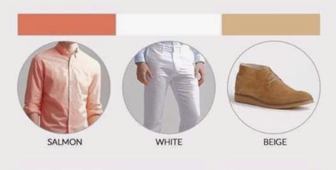 طريقة تنسيق الألوان مع ما يناسبها للرجال